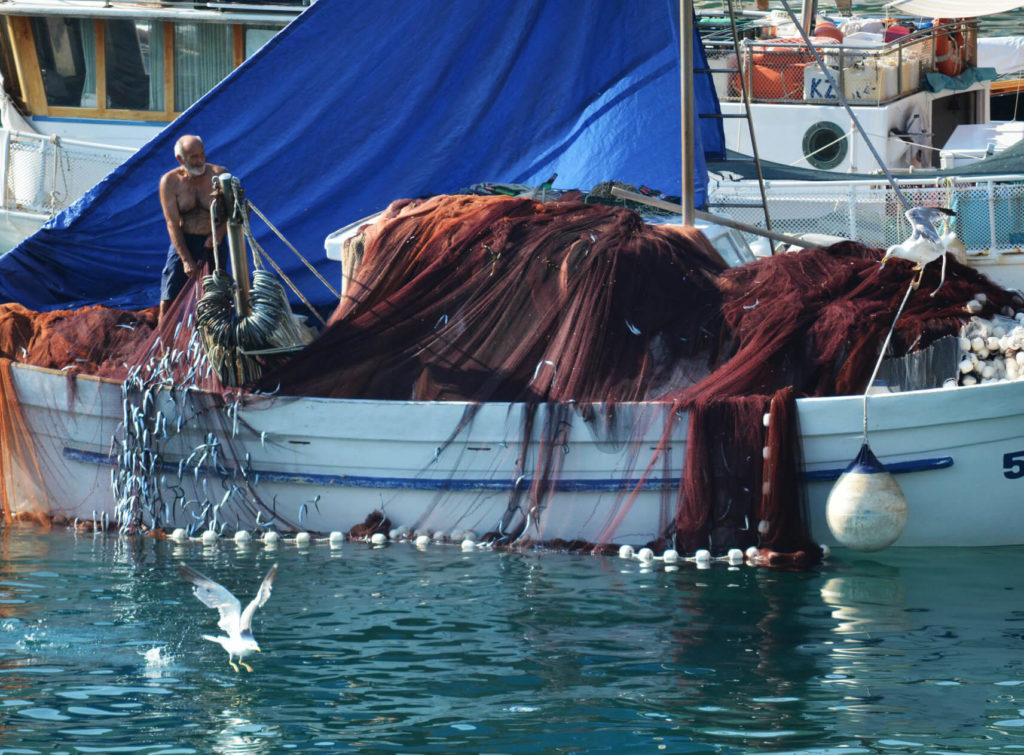 Fishermen Komiza Island Vis